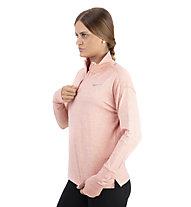 Nike Element - maglia a maniche lunghe running - donna, Rose