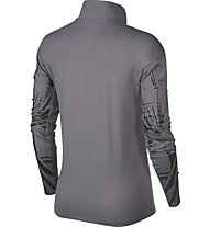 Nike Element - Laufshirt Langarm - Damen, Grey