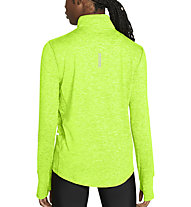Nike Element 1/2-Zip Running - Laufshirt Langarm - Damen, Green