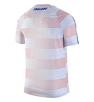Nike England Flash Pre-Match II - Trainingsshirt, White