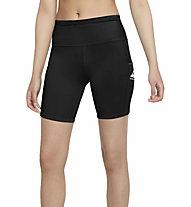 Nike Epic Luxe Trail Running - Trailrunninghose kurz - Damen , Black
