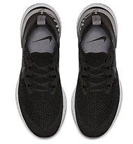 Nike Epic React Flyknit W - scarpe running neutre - donna, Black
