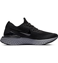 Nike Epic React Flyknit 2 - Laufschuhe Neutral - Damen, Black