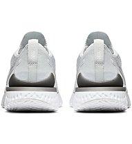 Nike Epic React Flyknit 2 - Laufschuhe Neutral - Damen, White