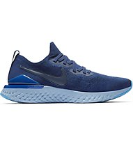 Nike Epic React Flyknit 2 - Laufschuh Neutral - Herren, Blue