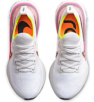 Nike React Infinity Run Flyknit - scarpe running neutre - donna, White/Pink