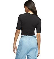 Nike Essential - Shirt - Damen, Black/White