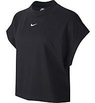 Nike Essential - Top - Damen, Black/White