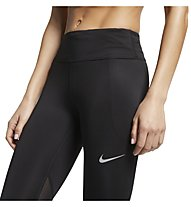 Nike Fast Running Tights - Trainingshose - Damen, Black