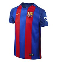 Nike FC Barcelona Stadium Home Fußballtrikot Kinder, Red/Blue