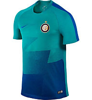 Nike Inter Mailand Pre-Match 2015/16 - Fußballtrikot, Blue/Turquoise