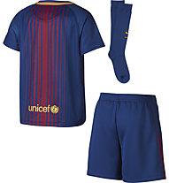 Nike Breathe FC Barcelona - Set Fußballtrikot mit Hose und Stutzen - Kinder, Blue