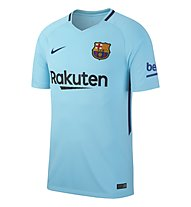 Nike FC Barcelona Breathe Stadium Jersey Away - Fußballtrikot, Light Blue