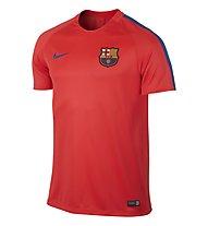 Nike FC Barcelona Dry Squad - maglia calcio FCB, Red