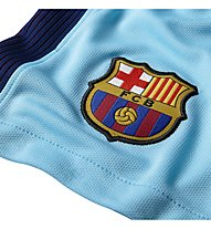 Nike FC Barcelona Short Home Stadium - Fußballhose, Light Blue