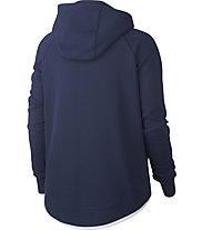 Nike FFF Tech Fleece - giacca con cappuccio - donna, Blue