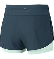 Nike Flex 2in1 Rival Short W - kurze Runninghose - Damen, Space Blue