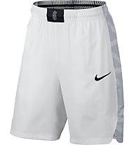 Nike Flex Kyrie Hyper Elite - kurze Basketballhose - Herren, White/Black