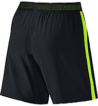 Nike Flex Strike Football Short - pantaloni corti calcio uomo, Black/Green
