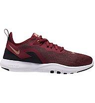 Nike Flex Trainer 9 - Turnschuhe - Damen, Red/Black