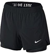 Nike Flex Training Short 2in1 - Kurze Trainingshose Damen, Black/White