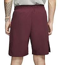 Nike Flex Woven 2.0 - pantaloni corti fitness - uomo, Dark Red