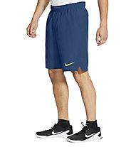 Nike Flex Woven Training Short - Trainingshose kurz - Herren, Blue/Yellow