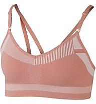 Nike Flyknit Indy - reggiseno sportivo a supporto medio - donna, Pink