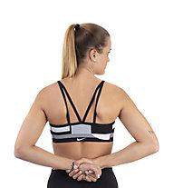 Nike Flyknit Indy - reggiseno sportivo a supporto medio - donna, Black