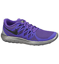 Nike Free 5.0 Flash Damen, Violett/Refl.Silver/Grey/Black