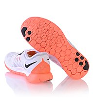 Nike Free 5.0 - scarpe running - donna, White/Orange