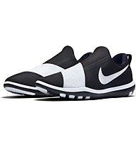 Nike Free Connect Turnschuh Damen, Black/White/White