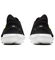 Nike Free RN Flyknit 3.0 - Laufschuhe Natural Running - Herren, Black
