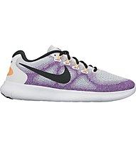 Nike Free Run 2 - scarpe natural running - donna, Purple/White