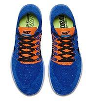 Nike Free Run Flyknit Natural Laufschuh Herren, Blue