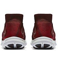 Nike Free Run Motion Flyknit W - scarpe running neutre - donna, Black/White