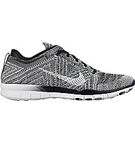 Nike Free TR Flyknit - Fitnessschuh Damen, Black/Wolf Grey