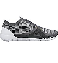 Nike Free Trainer 3.0 Trainingsschuh, Dark Grey/White
