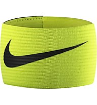 Nike Arm Band 2.0 Fußball-Kapitänsbinde, Yellow Fluo/Black