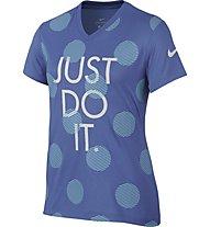 Nike Dry - Fitness T-Shirt - Mädchen, Blue