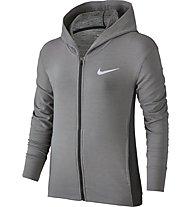 Nike Training Hoodie - Fitness Kapuzenjacke - Mädchen, Grey