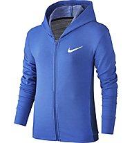 Nike Training Hoodie - Fitness Kapuzenjacke - Mädchen, Blue