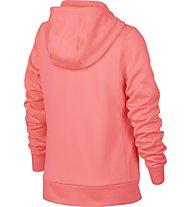 Nike Therma Hoodie Full Zip GX - Kapuzenjacke - Kinder, Pink