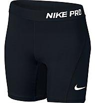 Nike Girls' Pro Cool Training Fitness Short Mädchen, Black