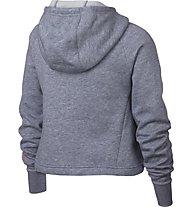 Nike Sportswear Hoodie Crop PE JDI - Kapuzenpullover - Kinder, Grey