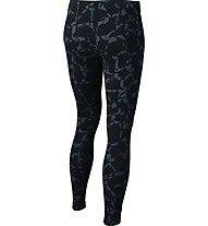 Nike Girls' Sportswear Fitness Training Leggings Mädchen, Black