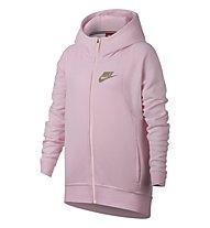 Nike Sportswear Modern Hoodie Girls' - Kapuzenjacke Fitness - Mädchen, Arctic Pink