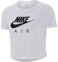 Nike Cropped Air Tee - T-Shirt - Mädchen, White