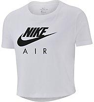 Nike Cropped Air - T-shirt fitness - bambina, White