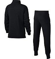 Nike Sportswear Track Suit - Trainingsanzug - Mädchen, Black